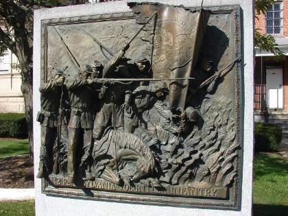 142nd infantry bronze frieze somerset pa