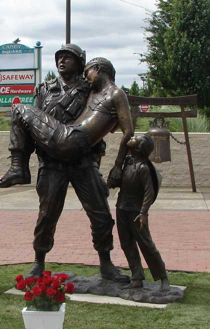 a hero's prayer viet nam war era monument canby oregon