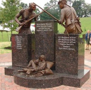 bushy run battle monument chambersburg