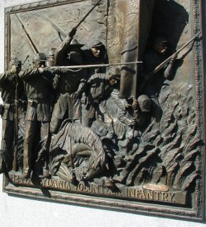 bronze frieze