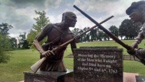 bushyrun battle monument