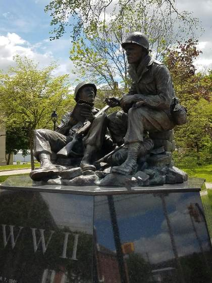letter from home wwII monument bedford pa