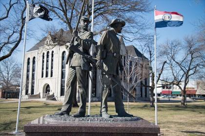 they stood tall monument clinton missouri